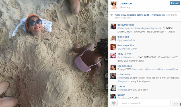 Beyoncé Pregnant? Again?