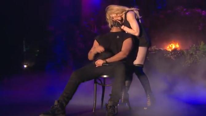 Video: Madonna Kisses Drake On Stage At Coachella!